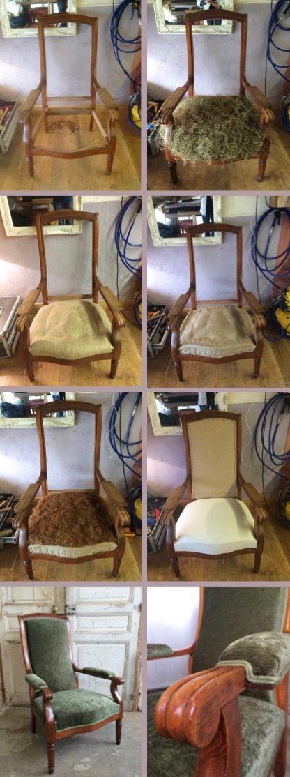 L 39 atelier de la marquise voltaire automnal upholstery mobilier de salon chaise fauteuil y - Meuble voltaire ...
