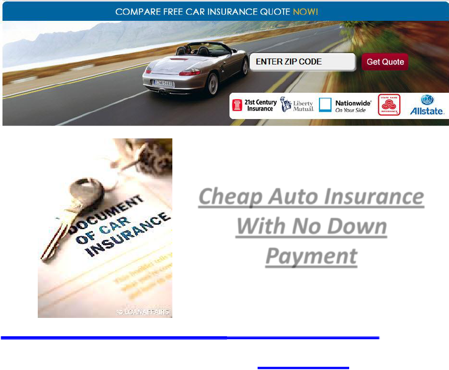 Http Cheapautoinsuranceguides Com Online Auto Insurance With No