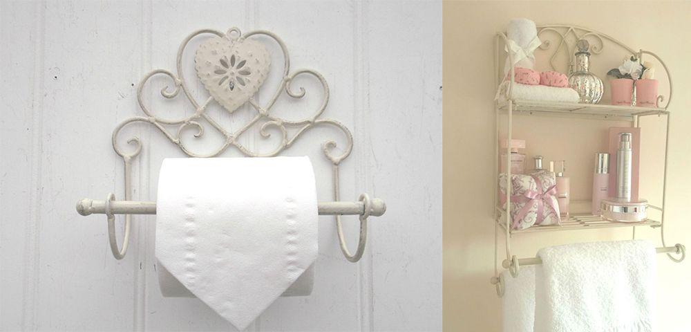 Badezimmer Dekor Ideen: Verträumte Shabby Chic Badezimmer für Ihr ...