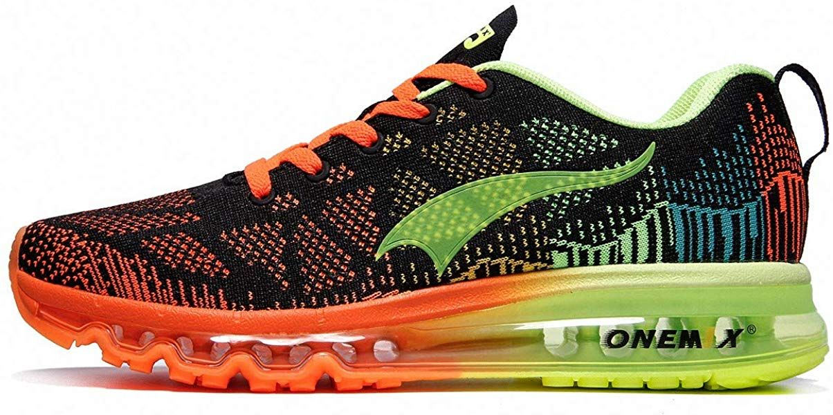 timeless design 0d005 49eee Amazon.com | ONEMIX Men's Air Max Knit Trail Running Shoes ...