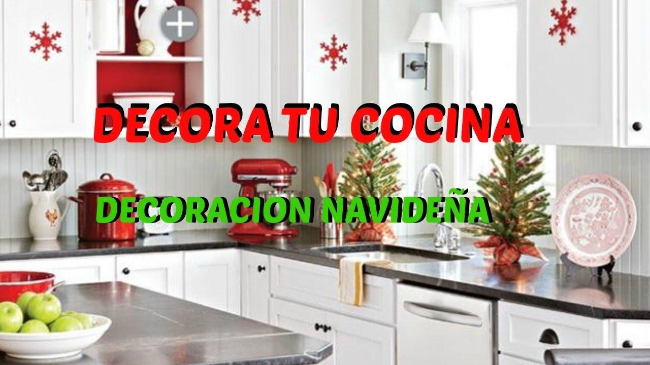 Ideas para decorar tu cocina en navidad decoracion for Decoraciones de navidad para el hogar