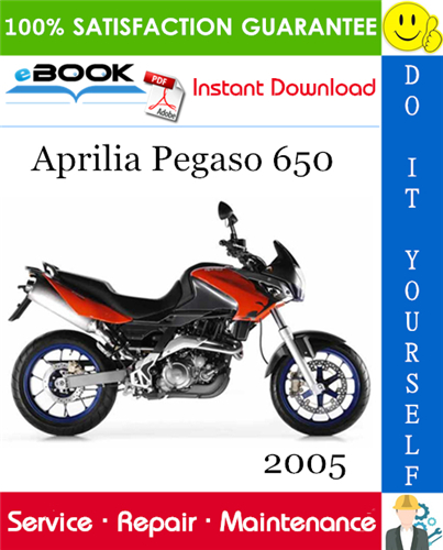 2005 Aprilia Pegaso 650 Motorcycle Service Repair Manual In 2020 Aprilia Repair Manuals Repair