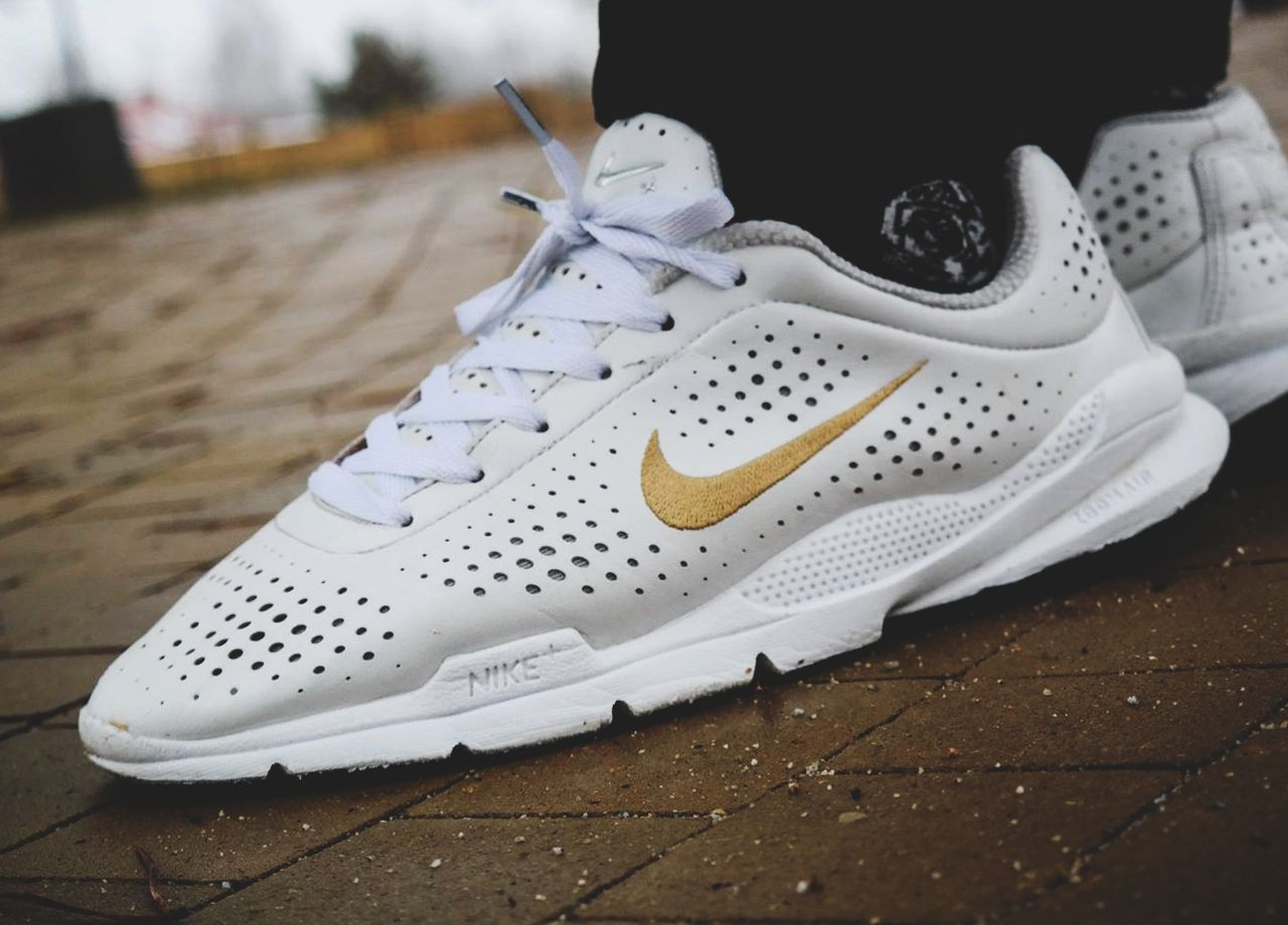 Nike Air Zoom Moire - White/Gold - 2006 (by Piotrek Mąkosa)