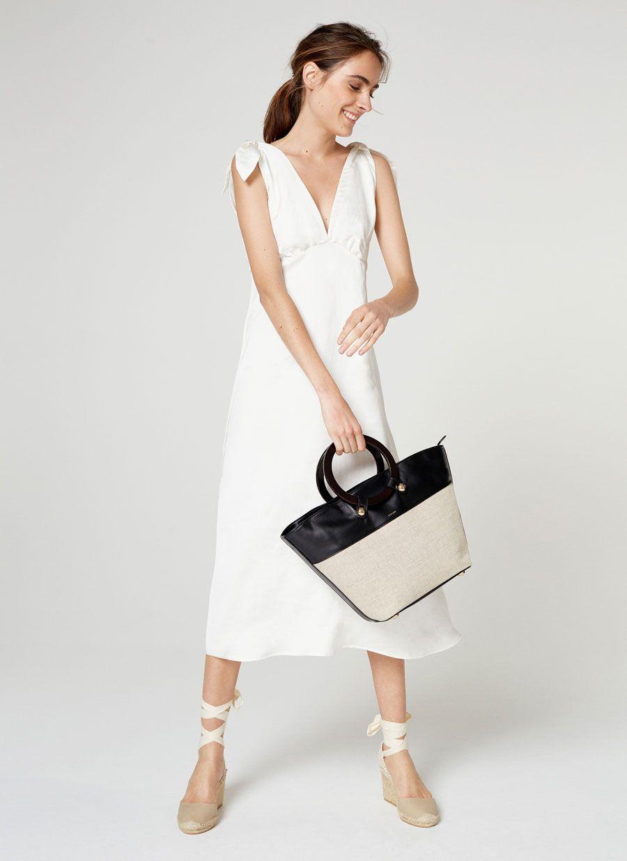 Como llevar vestido blanco en invierno