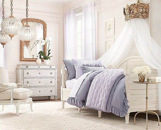 Restoration Hardware Little Girl S Room Love The Crown Day Bed Curtain Holder