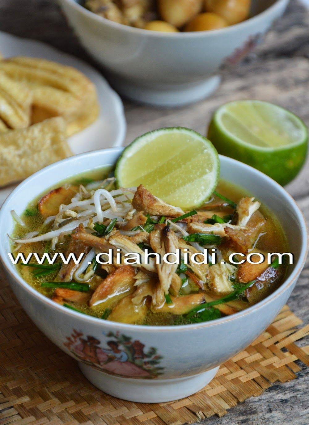 Diah Didi S Kitchen Soto Kudus Resep Baru Resep Resep Masakan Resep Masakan Asia