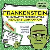 Frankenstein Reading Journals with Answer Key Penguin Acti ...