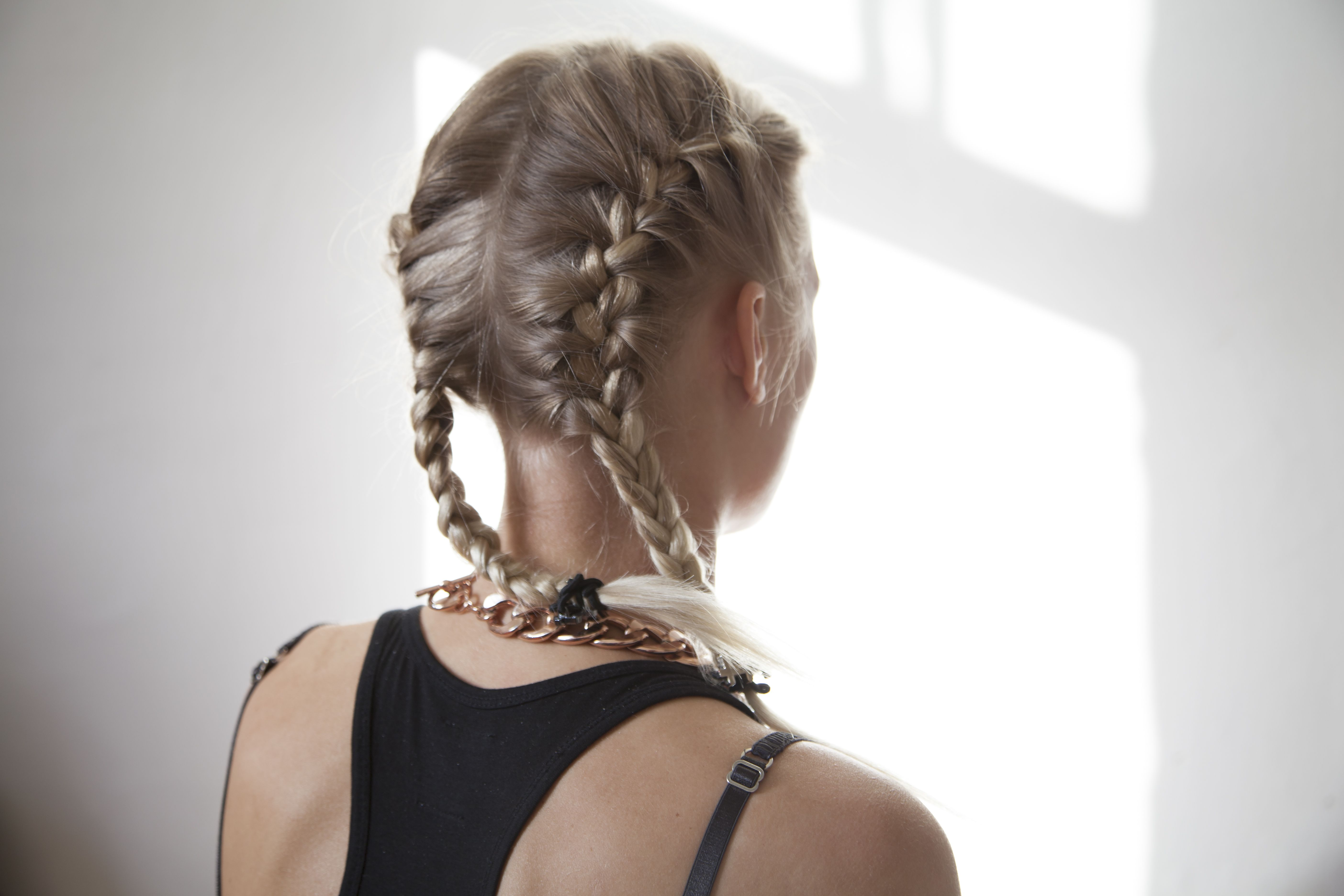 How To Do Two French Braids On The Side Of Your Head Two French Braids French Braid Pigtails Side French Braids