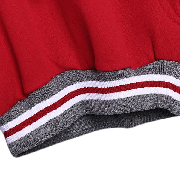 Cotton Long Sleeve Letter Hoodie