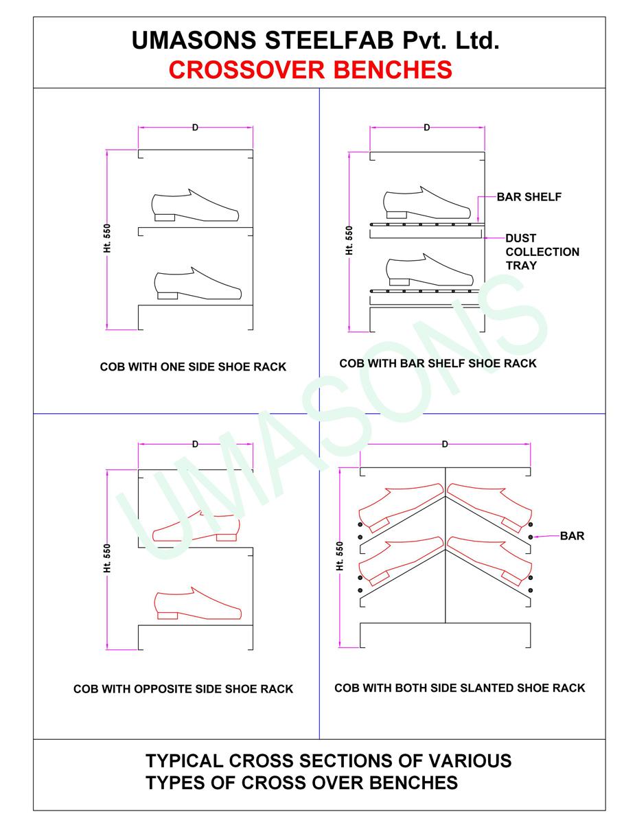 Slanted Shoe Rack Dimensions Tủ giày, Đồ đạc