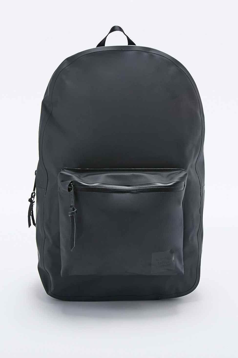 07ef7e987a8 Herschel Supply co. Settlement Studio Tarpaulin Backpack in Black ...