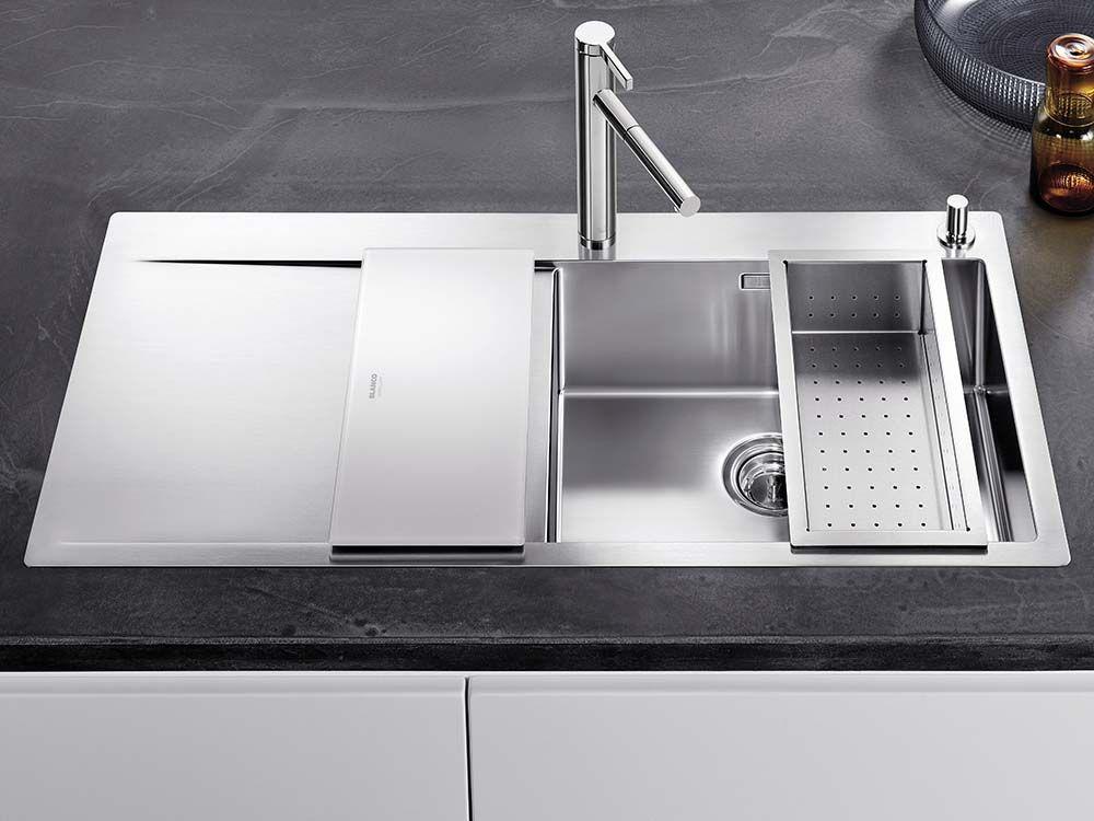 blanco flow xl 6 s if blanco steelart sinks pinterest flow kitchen design and sinks. Black Bedroom Furniture Sets. Home Design Ideas