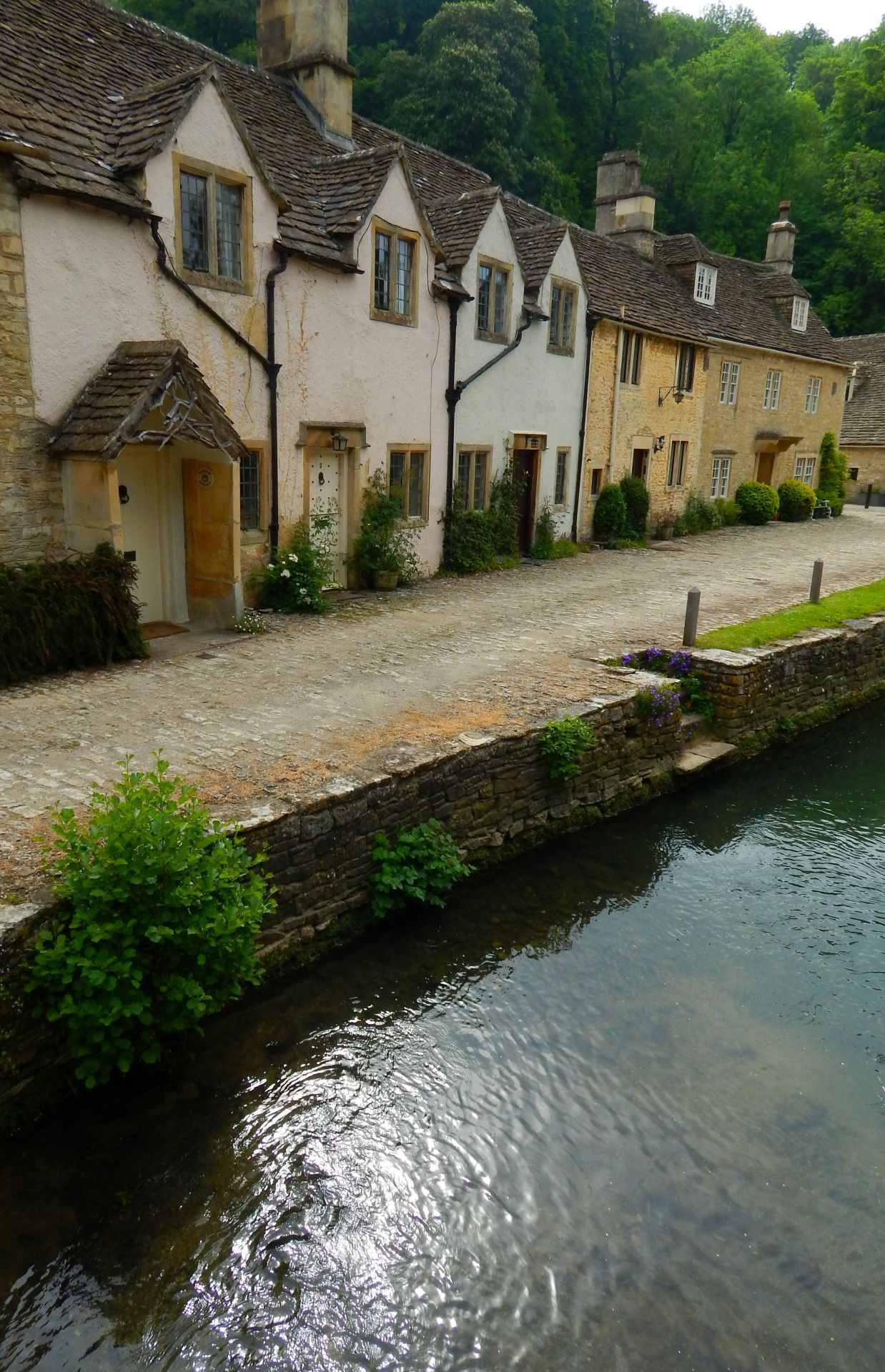 Castle Combe, Wiltshire, England, UK — FUCKITANDMOVETOBRITAIN