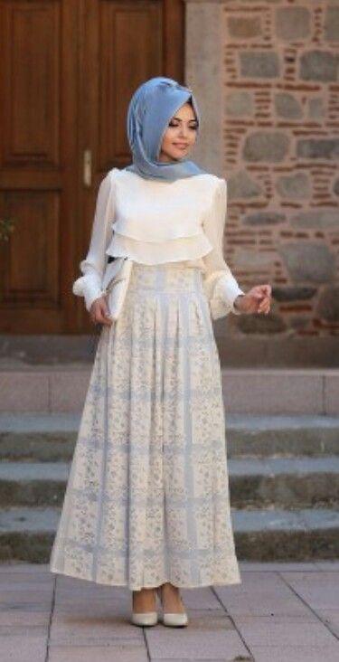 Annahar Skirt Blue   Skirt Price 55 Dolars  Shirt Price 30 Dolars Team Price 80 Dolars  Whatsapp 05533302701 #modaufku #modaufkuhijab #tesettür #hijab #hijabfashion #islamic #hijabi #hijaber #dress #abaya #elbise #abiye #pudra #annahar #pınarsems #gamzepolat