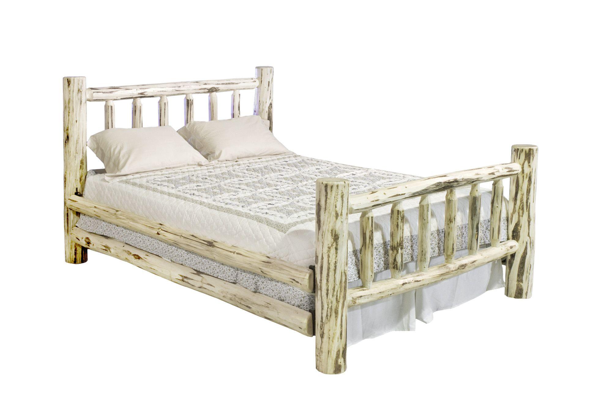 Montana Woodworks® Montana Log Slat Bed Wayfair Pine