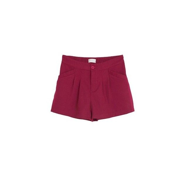 (TOBTM0098) Lady Red Shorts, iAnyWear ($30) ❤ liked on Polyvore