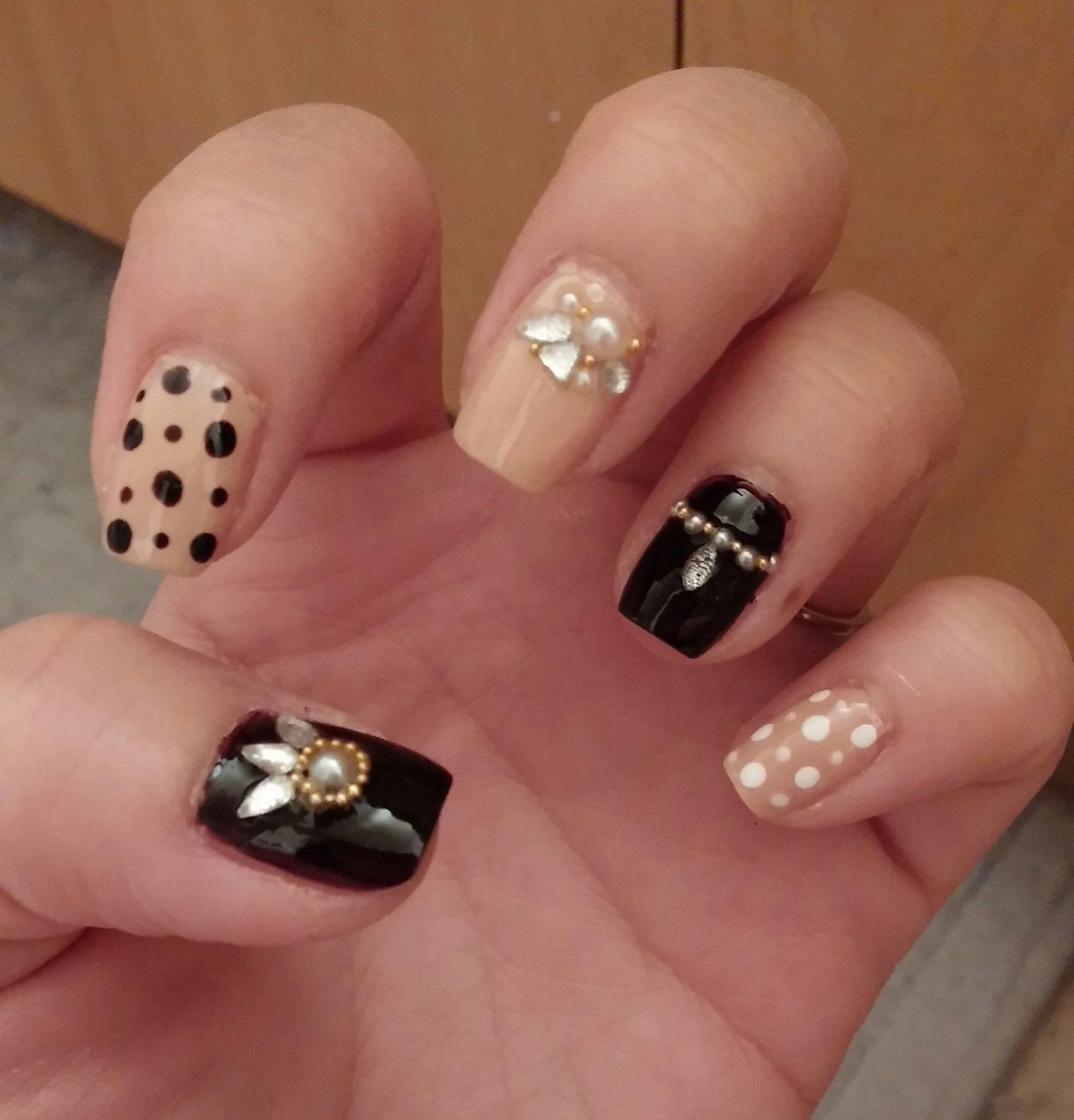 korean style nail art
