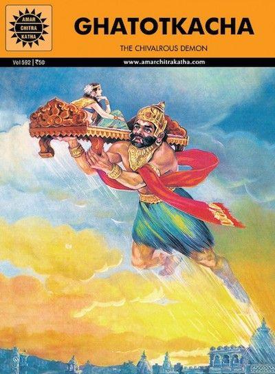Guide Ghatotkacha Ancient Warriors Hindu Mythology Free Stories