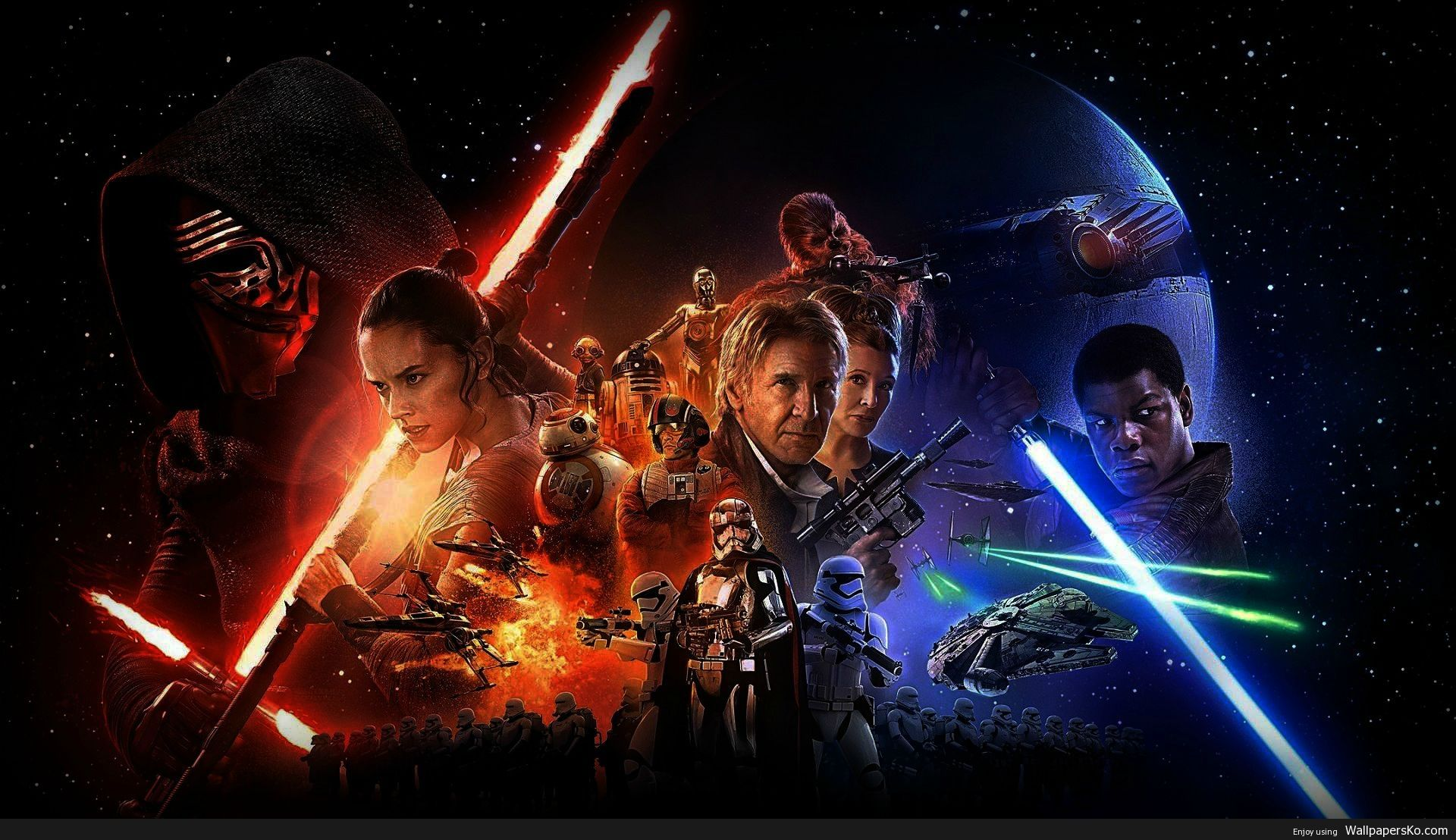 Star Wars The Force Awakens 1920x1080 Wallpaper Http