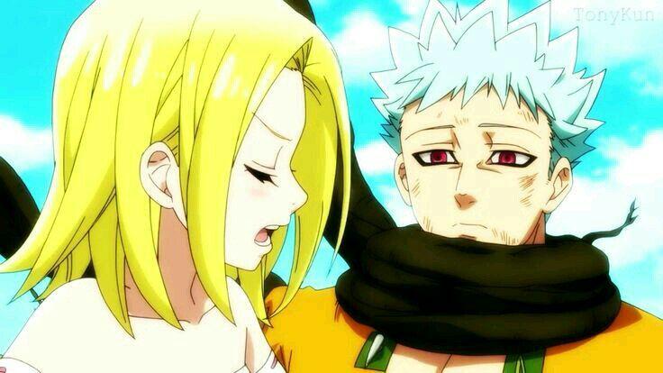 Ban e Elaine Nanatsu no taizai   Seven deadly sins anime