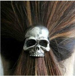 Punk Skull Hair Band Women's Hair Accessories