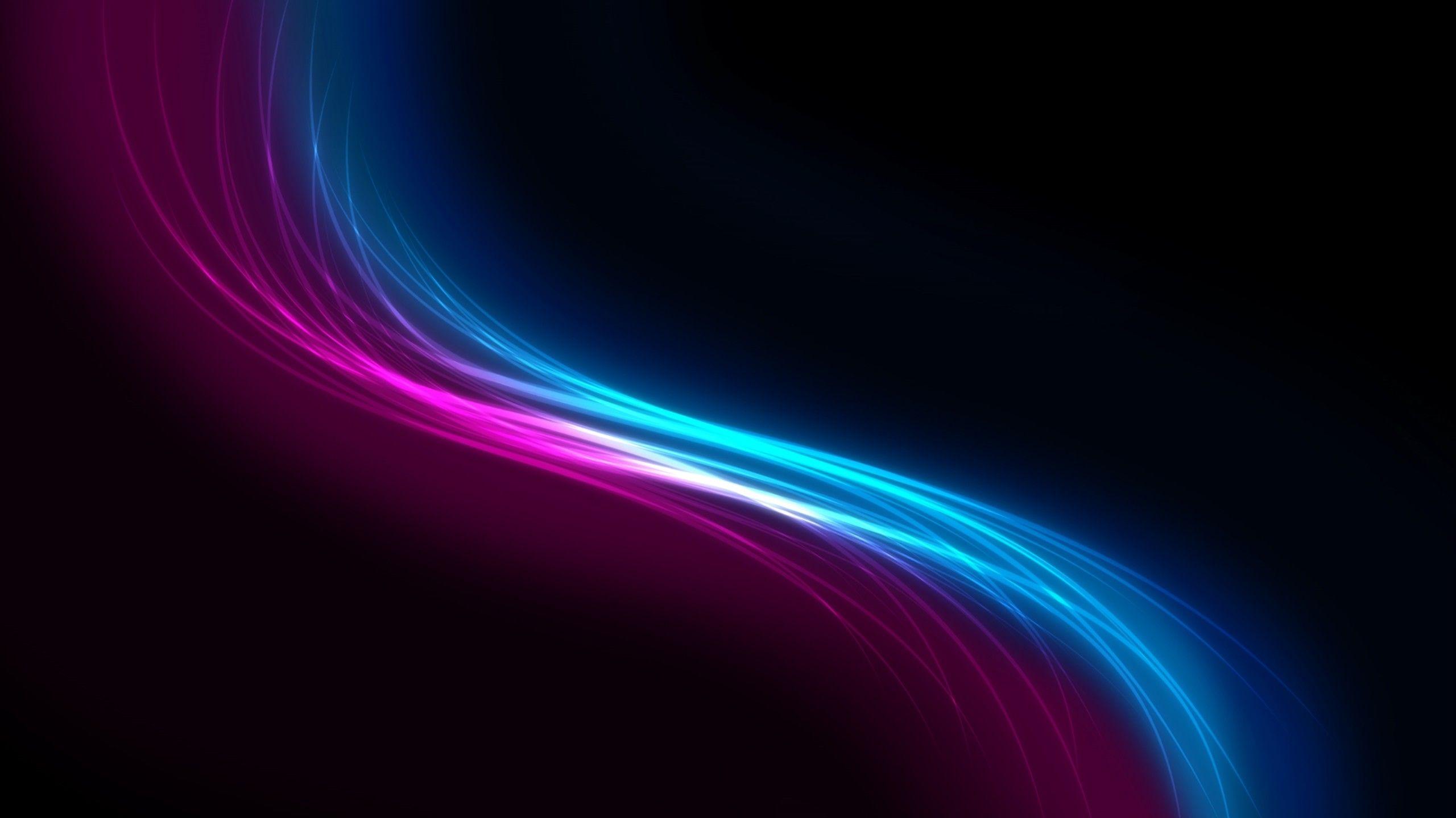 Siluet Black Pink And Blue Light Abstract Hd Wallpapers в