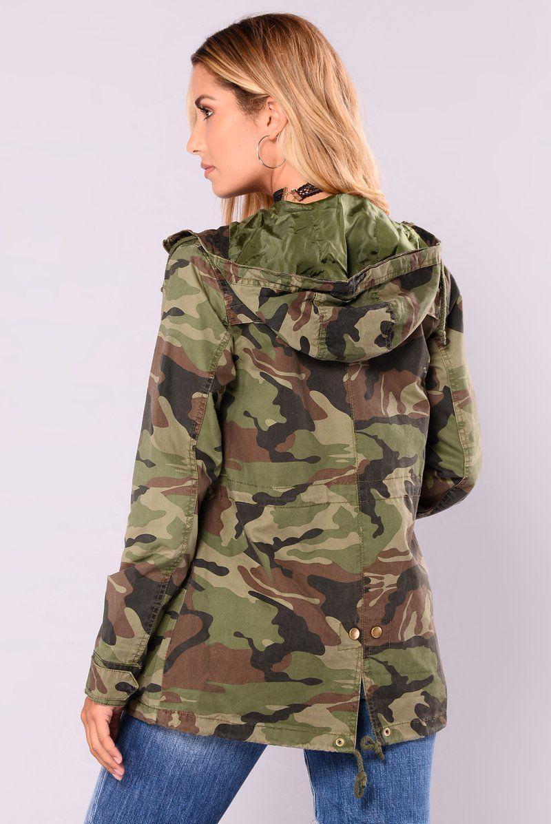 Candace camo anorak olive jackets affordable jackets