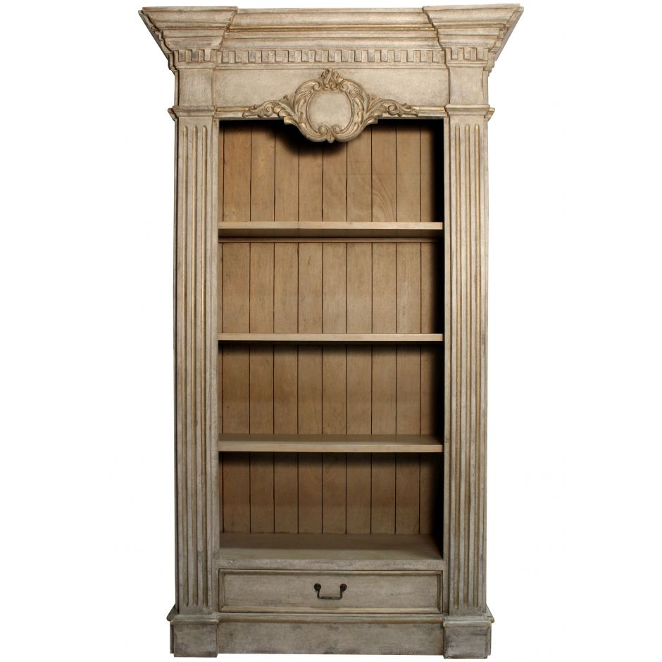 Couronne Vintage French Bookcase Country