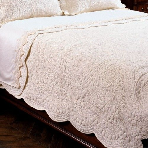 Matelasse Coverlet Countryliving Dreambedroom White Quilt Bedding Decor Home Decor