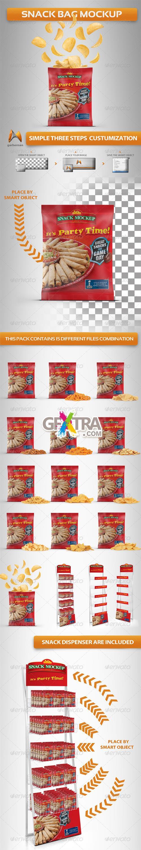 Download Graphicriver Snack Bag Mockup Bag Mockup Free Packaging Mockup Mockup