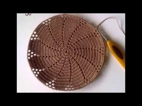 ▶ how to crochet a sun hat طريقة عمل قبعة كروشيه للصيف - YouTube #protectivestyles