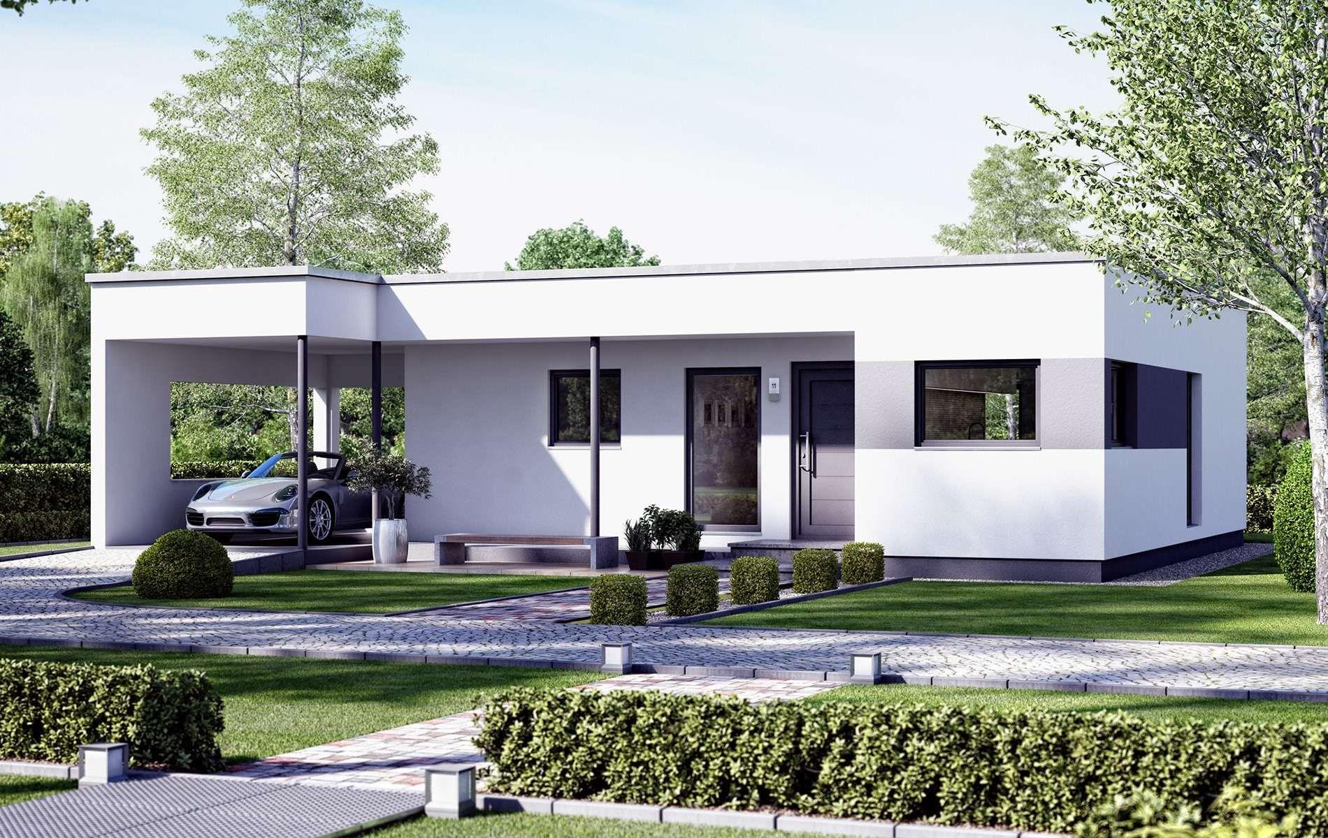 Living Haus Solution 78 V10 In 2020 Moderner Bungalow Living Haus Haus Bungalow