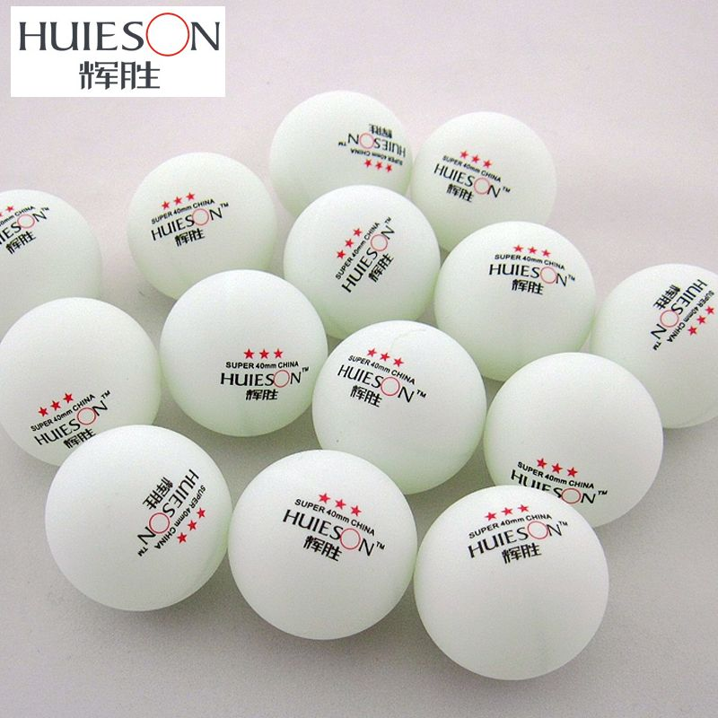 Huieson Exclusive 3 Star Table Tennis Balls 40mm 2 9g Ping Pong Ball White Yellow For School Club Table Tennis T Table Tennis Tennis Balls Olympic Table Tennis