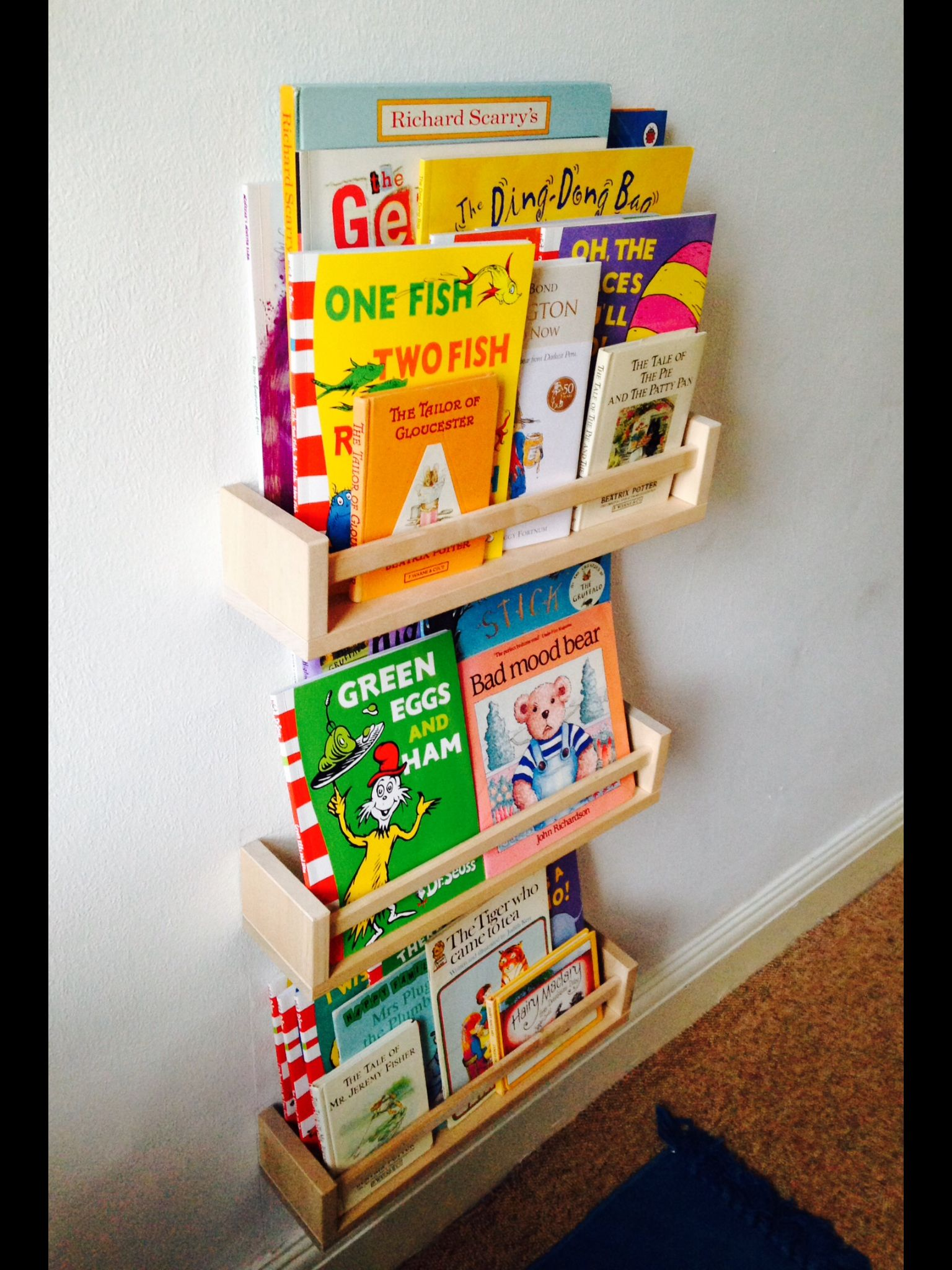 Bekvam Spice Rack Bookshelf Ikea Hack 3 Each Ikeahack Mobilya