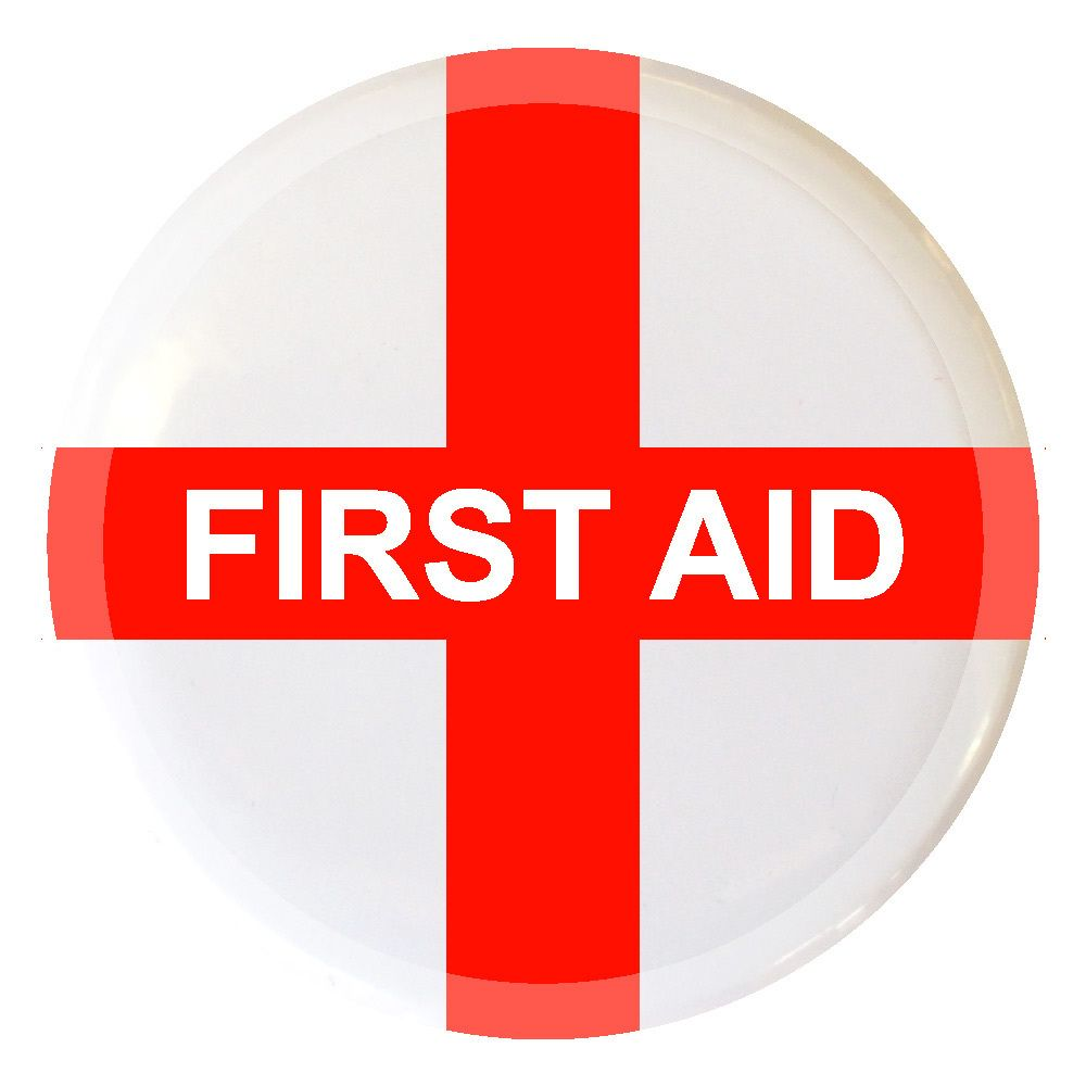 First Aid, Pin Badges, Badge