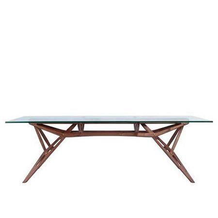 Amsterdam Walnut Rectangular Dining Table Midcentury Modern
