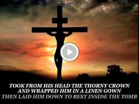 HALLELUJAH Good Friday Meditation Jesus on the cross