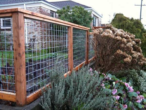Decorative Woven Wire Fence T Posts For Fence Gate | Backyard Ideas ...