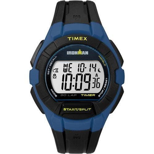 Timex IRONMAN&reg Essential 30 Full-Size Watch - Blue/Yellow