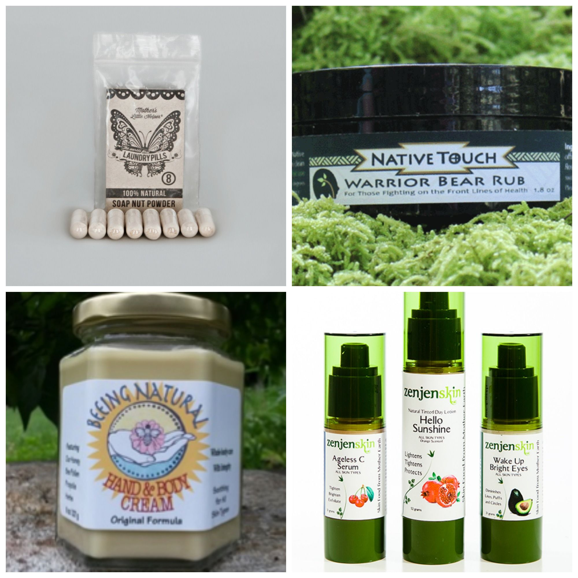 These are some of the products in our Healthy Skin Box! Get yours for just $49 while  supplies last http://www.nc-naturalproducts.org/site-page/blue-ridge-naturally-gift-boxes-2014