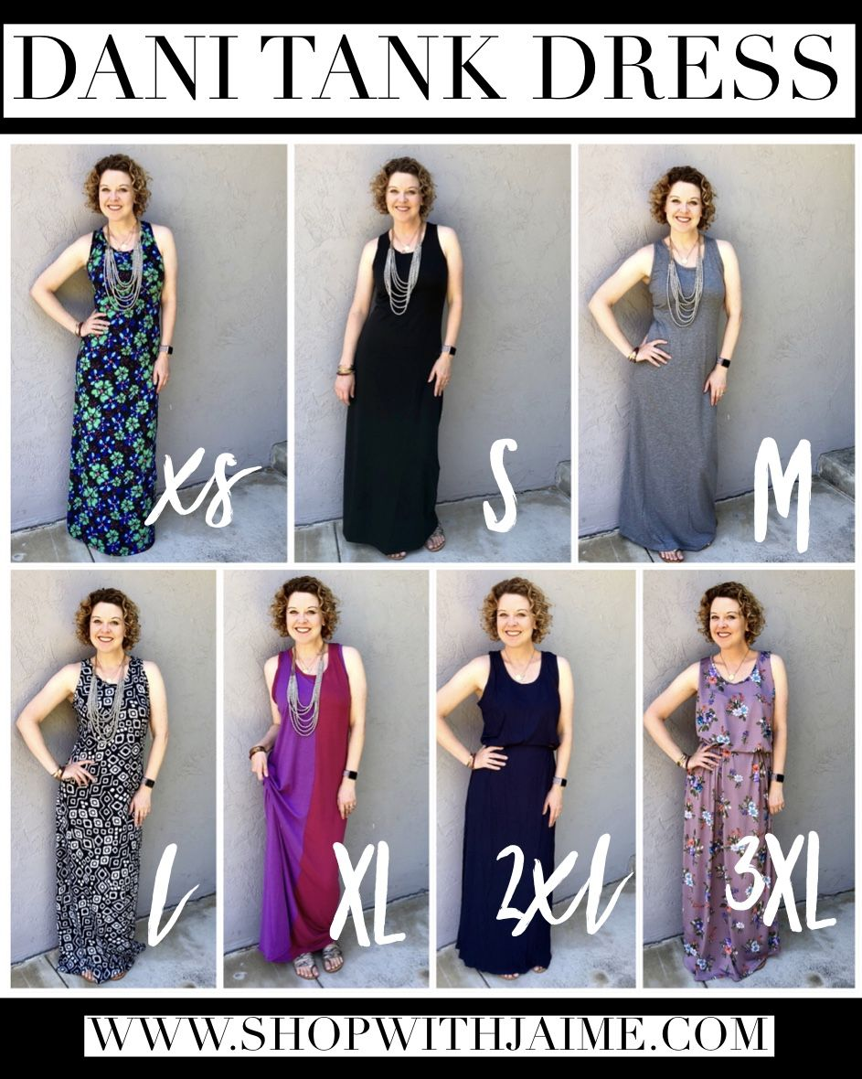 0d87ec7227da9 Let s talk about the brand new LuLaRoe Dani Tank Dress!!! It s amazing and