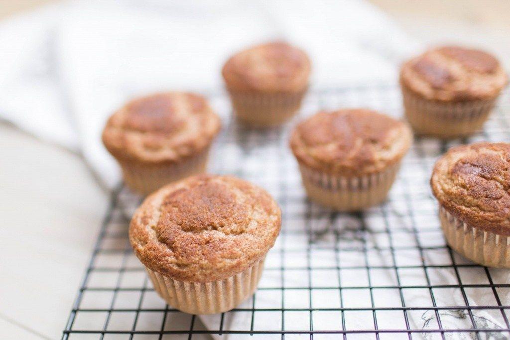 Cinnamon sugar kodiak cakes muffins happily the hicks