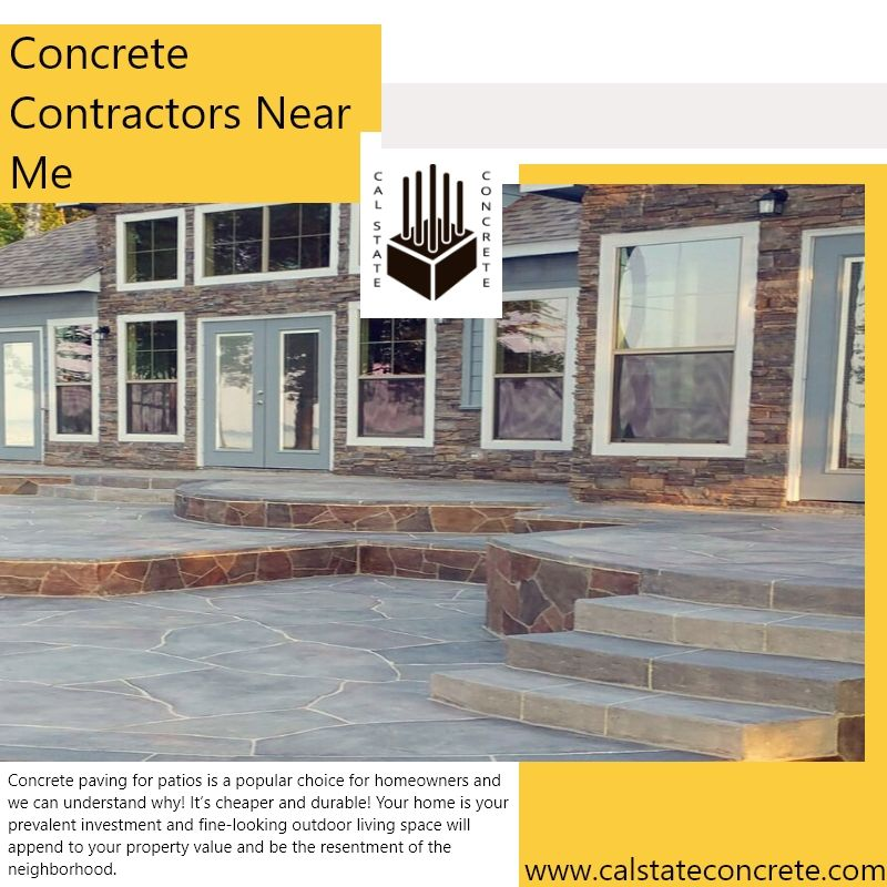 Concrete contractors near me foundation experts by Cal ... on Outdoor Living Contractors Near Me id=93486