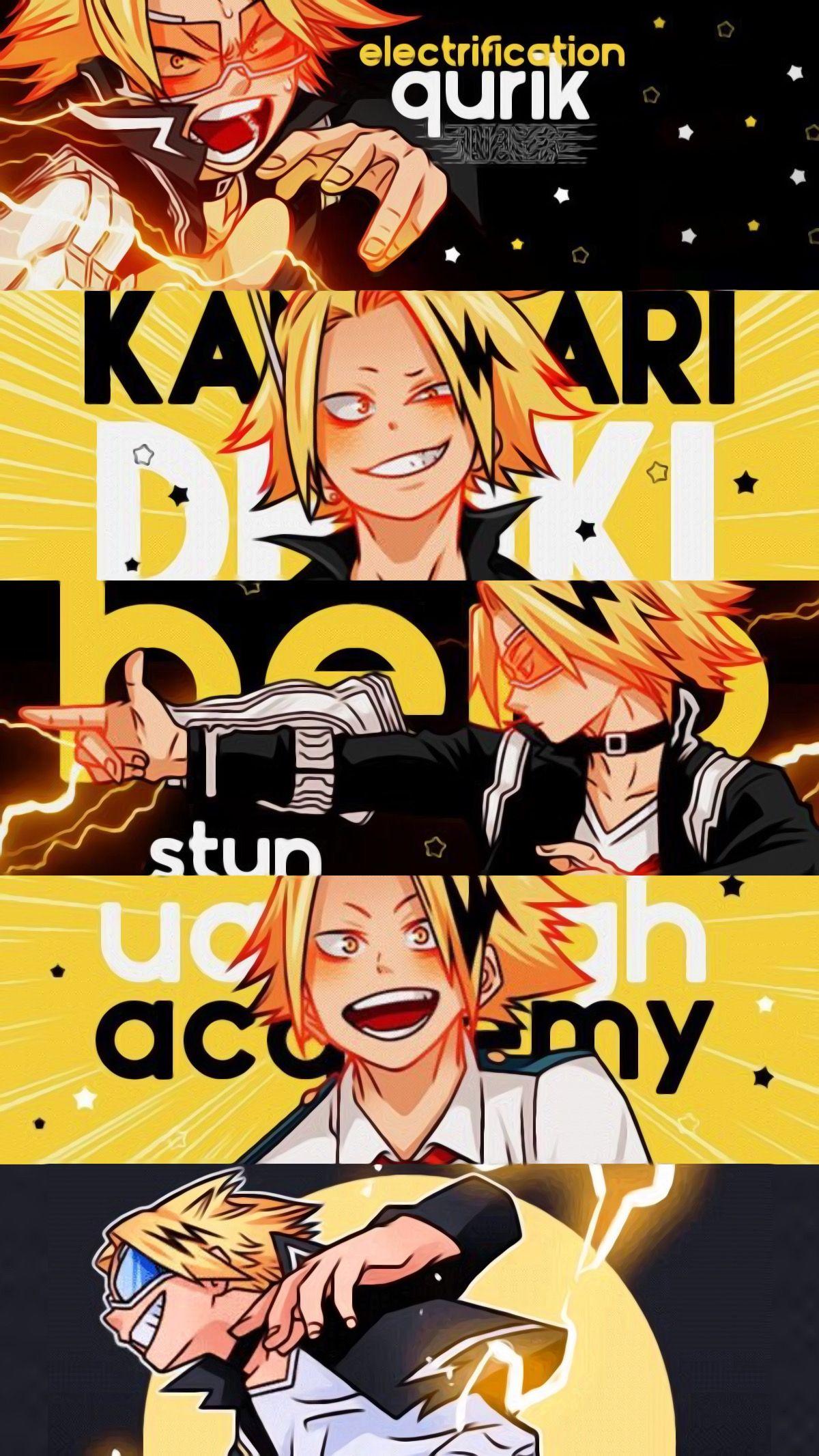 Denki Kaminari Human Pikachu Cool Anime Wallpapers My Hero