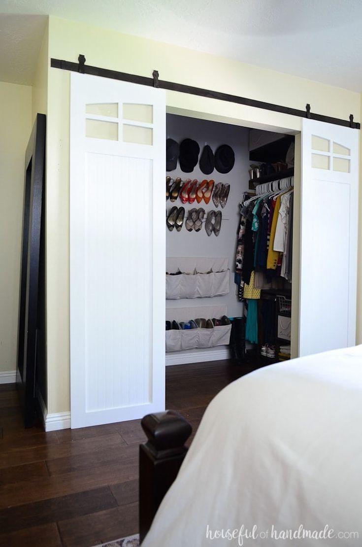 diy mirrored bifold closet doors
