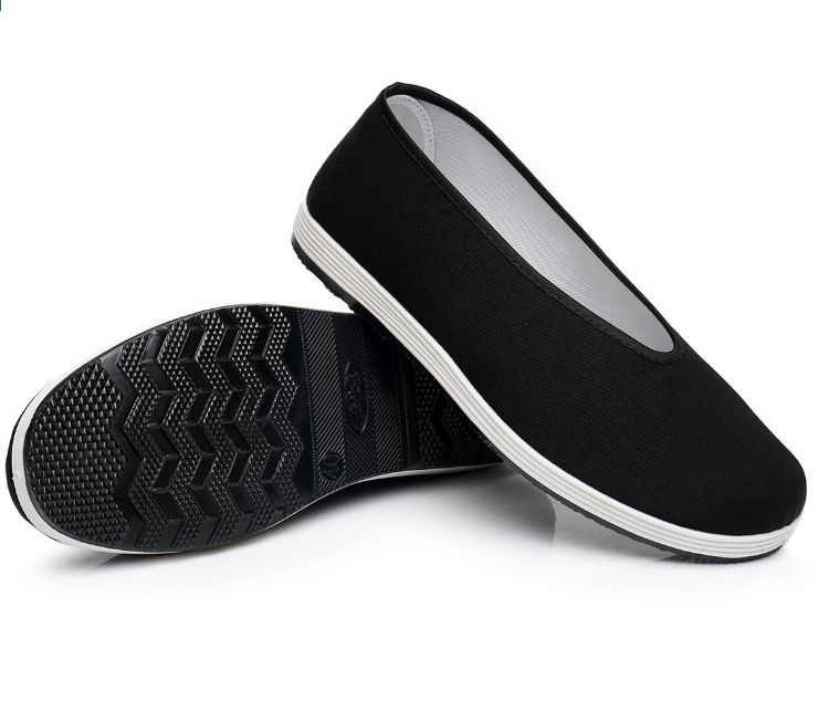 Mens Chinese Kung Fu Shoes Martial Art Ninja Cotton Sole Tai Chi Slipper Slip On Boxing, Martial Arts & Mma Shoes & Footwear