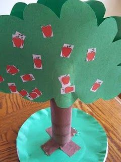 Apple Craft Ideas Apple Theme Here I Come Ftk For The Kiddos