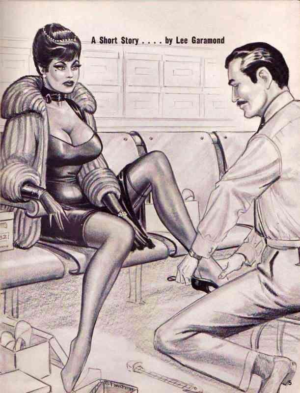 femdom drawing