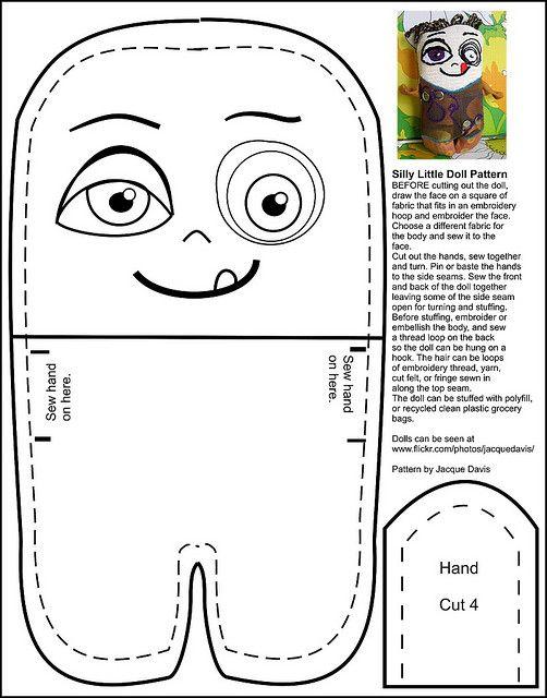 Silly Little Doll Pattern   Puppen und Nähen