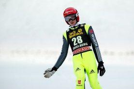 Richard Freitag   FIS Skispringen Weltcup   Engelberg / Schweiz   Fotojournalist Kassel http://blog.ks-fotografie.net/pressefotografie/weltcup-skispringen-engelberg-schweiz-2014-pressebildarchiv/